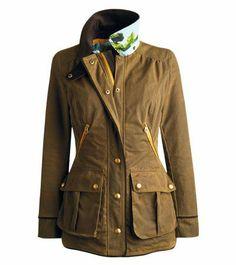 New Milbury waxed jacket, £199  www.joules.com