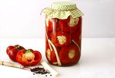 Gogoșari cu conopidă în oțet, rețetă pentru iarnă | Laura Laurențiu Vegetables, Food, Eten, Meals