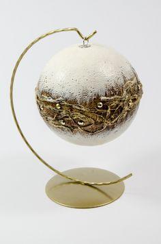 pasje-ani.blogspot.com powertex Clear Christmas Ornaments, Christmas Clay, Ball Ornaments, Christmas And New Year, Christmas Time, Christmas Crafts, Christmas Decorations, Xmas, Holiday Decor