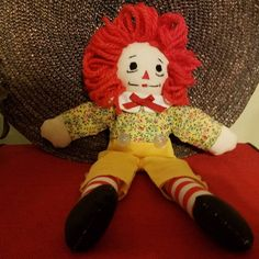 Just Listed ... Raggedy Andy 10 Inch Doll B5 For Sale by Fabpatterns1015 - $12.00 .  FREE SHIPPING U.S.A.  http://etsy.me/1W2dhpl .  #fit #follow #like #shar #wp #fb #tweet #twitter #buffer #DIY #supply #sewing #emporium #boutique #studio #seamstress #recycle #handmade #custom #show #raggedyandy #doll #pic #photo #oftheday #blog #pop #fabpatterns1015 #tagsforlike #ragdoll .  @instagram @sharpharmade