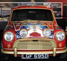 George Harrison's flamboyantly decorated MINI made a memorable appearance at MINI United 2009.