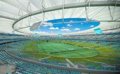 WM 2014 - Stadion Maracana in Rio de Janeiro
