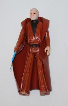 OBI WAN BEN KENOBI Vintage Star Wars 1977 GMFGI Action Figure Toy Hong Kong COO