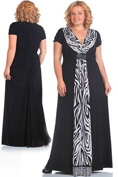 Elegant dresses for full women of the Belarusian company Andrea Style. Plus Size Dresses, Plus Size Outfits, Vetements Clothing, Big Size Fashion, Kleidung Design, Modelos Plus Size, Looks Plus Size, African Dress, Plus Size Women