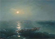 Sea at night - Ivan Aivazovsky