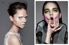 The Painted Exclusive for The Ones 2 Watch Celebrates Bold Makeup Looks #makeup trendhunter.com
