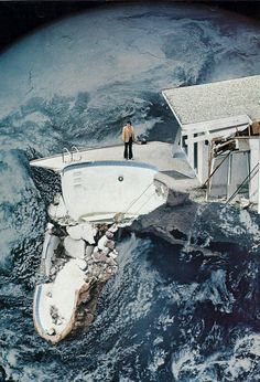 // Collage / #Surreal #Art #Collage by Hugo Barros aka Mesineto