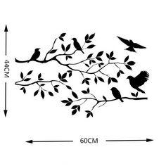 Bird Branch Cut File Eps Svg Dxf Ai Jpg Png