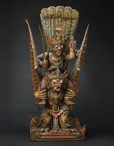 Wood carving, Bali