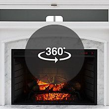 Newest Pics Electric Fireplace Lowes Popular Scott Living 52 5 In