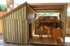 Diseños de casas para perros grandes