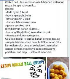 Crispy chicken balls