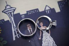 Urban Light Studios - My Wedding Wall | Autumn Laine Photography