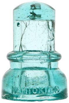 Glass Insulators, Insulation, Glass Art, Light Blue, Aqua, Auction, Antiques, Collection, Vintage