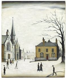 Lowry painting of Stow going under the hammer at Christie's