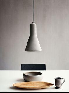 Bolia pendant light - Concrete 02 pendel