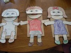 paper sack bible puppet people
