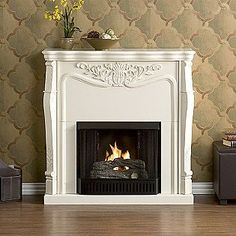 Southern Enterprises Fireplace. This is the same fireplace that Elle Fowler has in her bedroom.