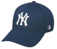 396765e7dff New York Yankees MLB Replica Team Logo Adjustable Baseball Cap from Outdoor  Cap by OC Sports