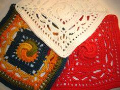 Muruseni-blogi | Kalevala CAL-osa7-Lemminkäinen Blanket, Crochet, Ganchillo, Blankets, Cover, Crocheting, Comforters, Knits, Chrochet