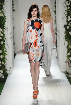 Look 14: Mulberry Spring Summer 2014 #LFW