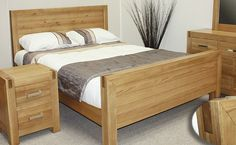 The Emily Wooden Electric Adjustable Bed mixes Solid Oak Timber with veneers resulting in a rustic yet clean look.