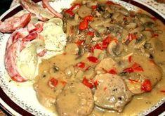 Polędwiczki wieprzowe pychota Polish Recipes, Meat Recipes, Cooking Recipes, Meat Meals, Cooking Ideas, Cheeseburger Chowder, Pork, Food And Drink, Menu