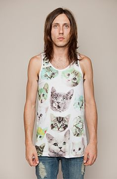 Drop Dead - Have You Seen My Kitty Vest  - £25 - http://store.iheartdropdead.com/product.php  /5393/have_you_seen_my_kitty_  #DDPINTOWIN