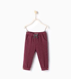 Bow detail trousers from Zara $25.90