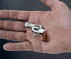 World's Smallest Revolver | fully-functional miniature pistol!