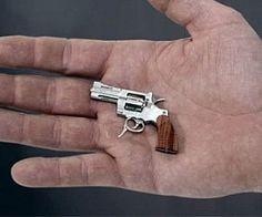 World's Smallest Revolver | fully-functional miniature pistol!