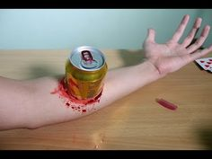 Cómo hacer sangre falsa para Halloween | Thaitrick - YouTube