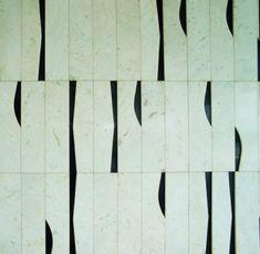 Ronaldo Fraga e Athos Bulcão - Handmade tiles can be colour coordinated and customized re. shape, texture, pattern, etc. by ceramic design studios