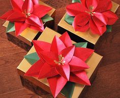 Poinsettias by Mariana Grigsby for Hero Arts