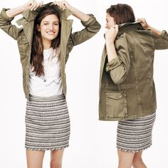 Fatigue jacket by Madewell
