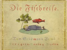 BLICKFANG: The Eye-Catching Covers of Weimar Berlin - 50 Watts // Tom (Martha G.) Seidmann-Freud, book cover, Germany, 1923