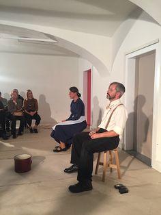 Lavant Christine im Bücherbazar von Obdach - Paul Decrinis Theater, Communities Unit, Theatres, Teatro, Drama Theater