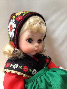 Madame Alexander / Sweden / Origional Box / Blond Doll. $30.00, via Etsy.