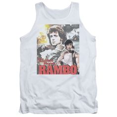 Rambo:First Blood/They Drew Collage Adult Tank in
