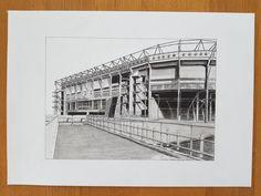 """""""De Grolschveste"""" football stadium from Fc Twente-Enschde, Enschede Holland"""