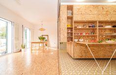 Les murs de cet appartement permettent de modifier la disposition des pièces