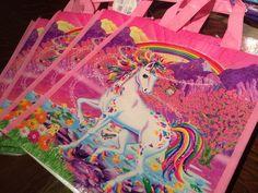 Lisa Frank Rainbow Majesty Tote
