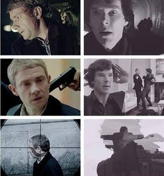 """We forget -- it wasn't the first time someone had a gun pointing at John. Every time before, Sherlock came for him. The only difference is that the amount Sherlock invested in the rescue constantly increased, as his attachment did. By the time the cost was his life, Sherlock was ready. He'd always been ready. <--oh my heart hurts because of the truth in this"" All my feels"