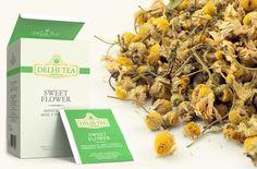 Té de manzanilla, miel y vainilla Delhi Tea