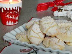 RICCIARELLI biscotti di Natale alle mandorle Cookies, Buffet, Ice Cream, Breakfast, Desserts, Food, Crack Crackers, Italy, Madeleine