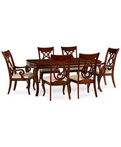 Bordeaux Dining Room Set, Only At Macyu0027s, (Table, 2 Arm Chairs U0026 4 Side  Chairs)   Dining Room Collections   Furniture   Macyu0027s