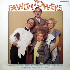 John Cleese, Prunella Scales, Connie Booth And Andrew Sachs - Fawlty Towers (Vinyl, LP) at Discogs British Humor, British Comedy, English Comedy, British Sitcoms, Vinyl Music, Music Tv, Connie Booth, Fawlty Towers, Best Sitcoms Ever