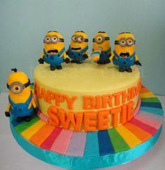 Despicable Me 2 movie cakes photos | Despicable Me minions - by tessatinacakes @ CakesDecor.com - cake ...