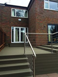 To complement our Pro-Railing range of products, we offer a wire rope system as a choice of infill. The stainless steel 3mm strand wire rope system is a simple and cost effective alternative to our cross bar system. It can be fixed to most surfaces including wood, metal and brick and gives an industrial feel to your balustrade, making it ideal for external applications in residential and commercial environments. Brick, Alternative, Commercial, Environment, Wire, Industrial, Stainless Steel, Range, Canning