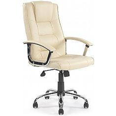 Loughborough Leather Faced Manager Chairs £69 - Office Chairs